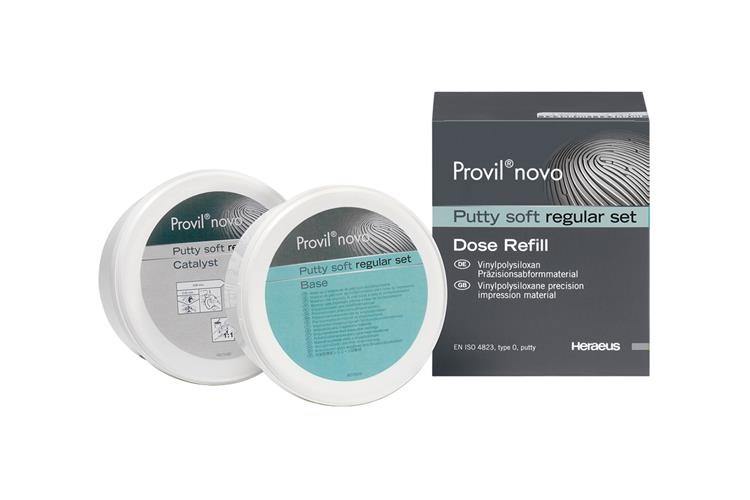 Provil Novo Putty Soft Regular Set, 2X250ML, Heraeus-Kulzer